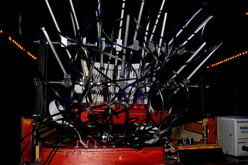 mediateletipos sonic acts optical machine