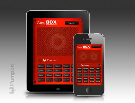 soundbox app ios by pumpun