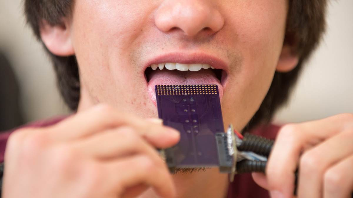 CSU researchers are testing the nerves on the tongue to see which are best at detecting the electrical impulses necessary for the device to work.