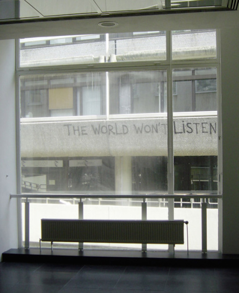 the_world_wont_listen