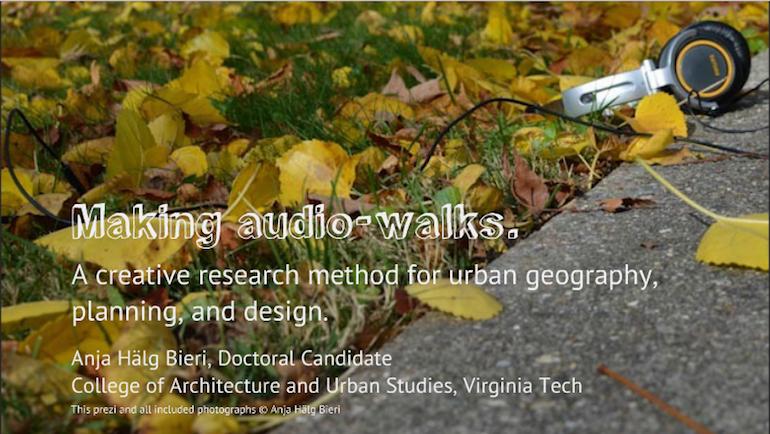 audio-walk