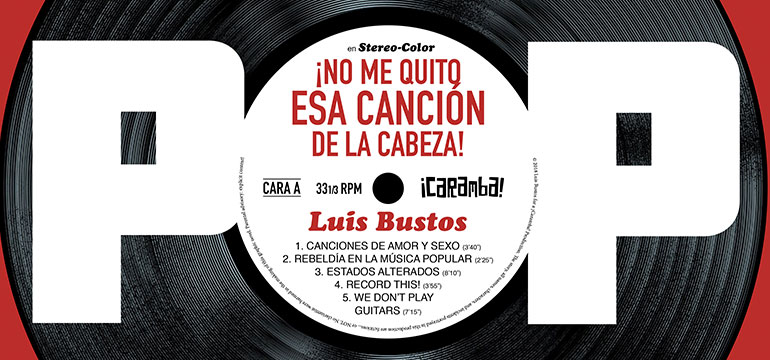 Portada del cómic «Pop» de Luis Bustos.